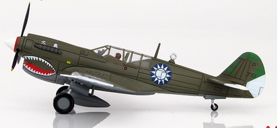 Curtiss P-40N piloted by Chiao Wu O, 29th FS / 5th FG, Chinese Air Forces, China, 1944, 1:72, Hobby Master