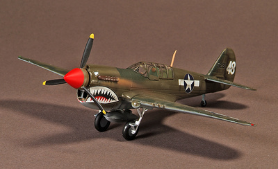Curtiss P40, Warhawk, 74th Squadron, Kwellin, China, 1945, 1:72, War Master