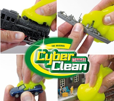 Cyber-Clean, limpiador para todo tipo de miniaturas, Busch