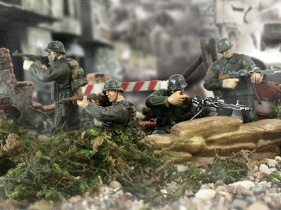 D-Day German 352nd Infantry Division, 1:32, Forces of Valor