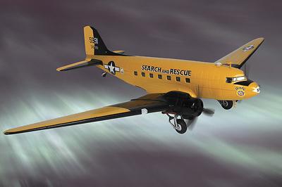 "DC-3 USAAF 1352nd AAFBU, ""ChardiE"", 1:48, Franklin Mint"