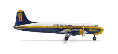 "DC-4/R5D ""Blue Angels"", USMC Douglas, 1:500, Herpa"