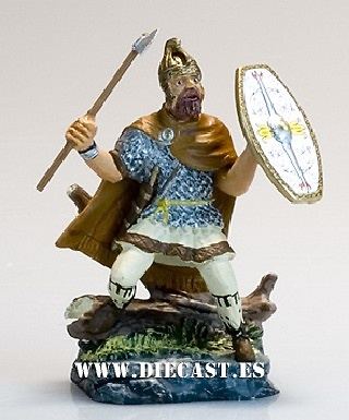 Dacian warrior, II century aC