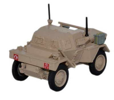Daimler Dingo Scout Car, 5th RTR, 4th Armoured Brigade, Gran Bretaña, Libia, 1942, 1:76, Oxford