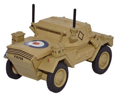 Daimler Dingo Scout Car, HQ 2nd Div, RAF, El Alamein, 1942, 1:76, Oxford
