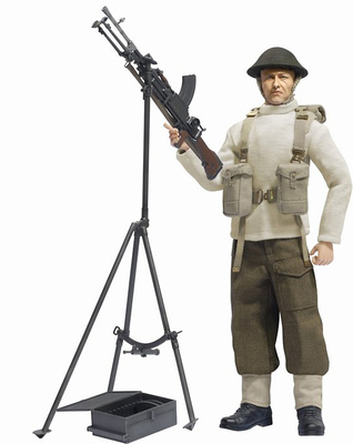 Daniel Winston (Private), British Bren Gunner w/AA Tripod British Expeditionary Force, Dunkirk 1940, 1:6, Dragon Figures