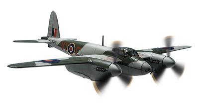 De Havilland Mosquito NFII, HJ711, Elvington Aviation Museum, 2013, 1:72, Corgi