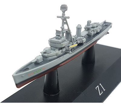 Destroyer Z1, Deutsche Marine, 1959, 1:1250, DeAgostini
