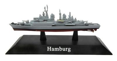 Destructor Hamburg, Bundesmarine, 1960, 1:1250, DeAgostini