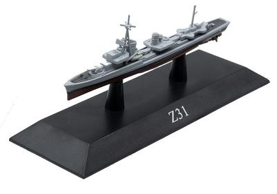 Destructor Z31, Kriegsmarine, 1936, 1:1250, DeAgostini
