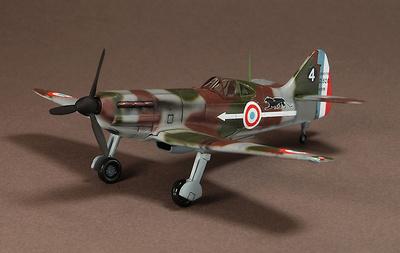 Dewoitine D.520, Armee de l'Air, GC II/7, 1940, France, 1:72,  Warmaster