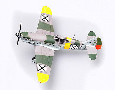 Dewoitine D.520 nº 343, GCII/3, France, June 1941, 1:72, Easy Model