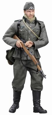 """Dieter Müller"" (Tirador) Wehrmacht InfanteriA, 11. Infantry Division, Este Prusia 1941, 1:6, Dragon Figures"