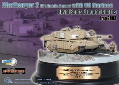 Diorama Challenger, 2 Royal Guards, 2003, 1:72, Dragon Armor