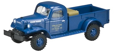 Dodge Poder Wagon, U.S. Air Force, 1:87, Busch