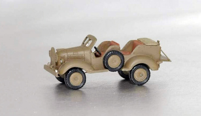 Dodge T202, 4x4, 1940, 1:72, Wespe Models