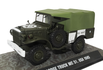 Dodge Truck WC 51, USA, 1945, 1:43, Atlas
