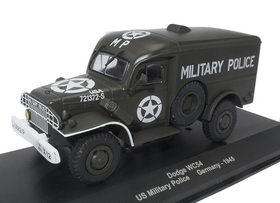Dodge WC54, US Military Police, Alemania, 1945, 1:43, Atlas