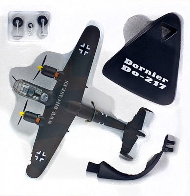 Dornier Do-217, Alemania, 2ª Guerra Mundial, 1:144, Atlas