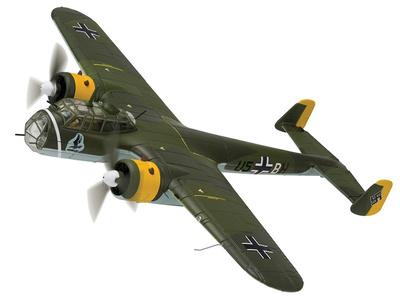 "Dornier Do17Z-2 U5-BH, 1./KG.2 'Holzhammer' Tatoi, ""Operación Marita"", Grecia, Mayo, 1941, 1:72, Corgi"