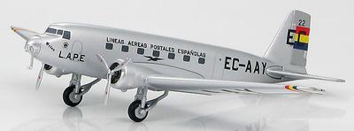 "Douglas DC-2-115B ""EC-AAY"" L.A.P.E., Gobierno de la República Española, Mayo, 1935, 1:200, Hobby Master"
