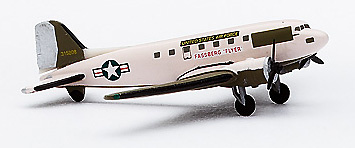 "Douglas DC-3 ""Fassberg Flyer"",  United States Air Force, 1:500, Herpa"