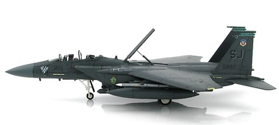 Douglas F-15E Strike Eagle 89-0487, 335th FS, 4th FW, Bagram AB,  Afghanistan, Enero, 2012, 1:72, Hobby Master