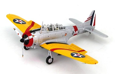 Douglas SBD-1 BuNo 1597, Squadron Commander of VMB-2, US Marine Corps, San Diego, 1940, 1:72, Hobby Master