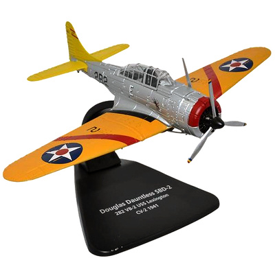Douglas SBD-2 Dauntless, USN VB-2, USS Lexington, 1941, 1:72, Oxford
