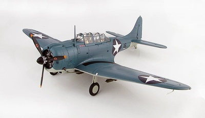 "Douglas SBD-3 ""Dauntless"" BuNo 3315, Black 16 of Scouting 71,VS-71 USS Wasp (CV-7),  August, 1942, 1:32, Hobby Master"