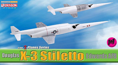 Douglas X-3 Stiletto, Base de la Fuerza Aérea Edwards (California), 1:144, Dragon Wings