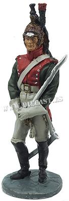 Dragón del 7º Regimiento de Dragones, 1812, 1:30, Hobby & Work