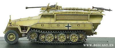 Dragon Armor, Sd.Kfz.251/7 Ausf.D, 2,8 GUN, 1:72, Dragon Armor