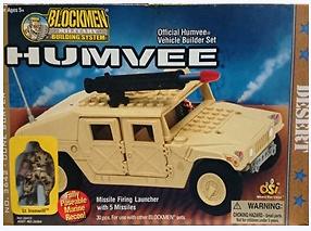Dune Surfer, Humvee, Blockmen
