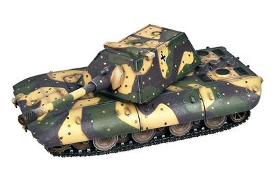 E-100, Tanque Pesado con torreta Krupp, Alemania, 1946, 1:72, Modelcollect