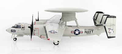 "E-2C Hawkeye 161343, VAW-122 ""Steel Jaws"", USS Forrestal, 1991, 1:72, Hobby Master"