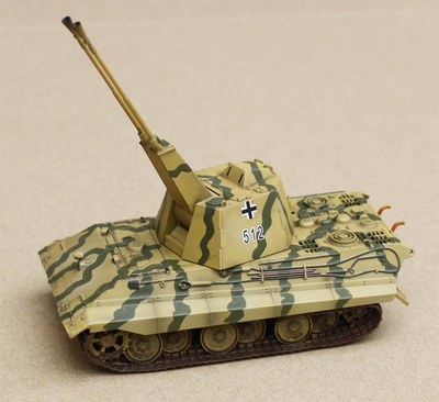 E-50 Flakpanzer with FLAK 55, Germany WWII, 1945, 1:72, Modelcollect