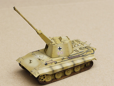 E-75 Flakpanzer with FLAK 55, Germany WWII, 1945, 1:72, Modelcollect