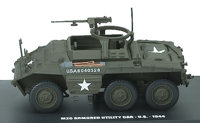 E.G., M20 ARMORED UTILITY CAR, US 1944, 1:43