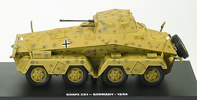 E.G., SDKF 231, GERMANY 1944, 1:43