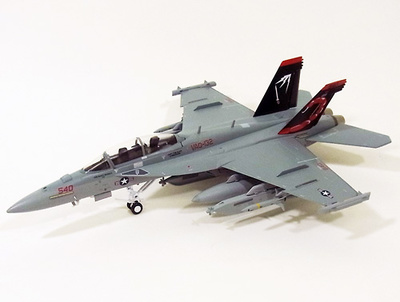 EA18G, VAQ-132 Scoripons Comvaqwinpag, Co. Us. Navy, 1:72, Witty Wings