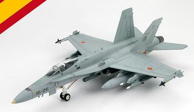 """EF-18M Hornet, Operación """"United Protector"""" C.15-38/15-25, Base Aérea de Decimomannu,  Cerdeña, Julio 2011, 1:72, Hobby Master"""