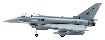 EF2000 (C-16) Typhoon, Spanish Air Force, 11th Squadron, de Morón Airbase (Home base) Aircraft Number: 11-10, Serial Number: C16-30, 1:200, Hogan