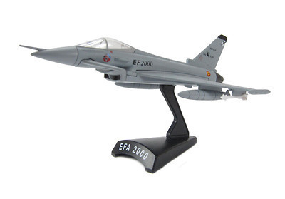 EFA 2000 Eurofighter Postage Stamp, 1:121, Model Power