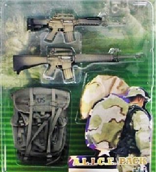 ELITE FORCE, A.L.I.C.E.  PACK, 1:6