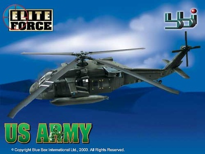 ELITE FORCE, BLACKHAWK HELICOPTER, 1:18
