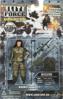 ELITE FORCE, SNAKE ROONEY, 1:18