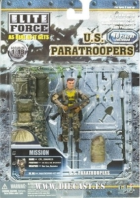 ELITE FORCE, U.S. PARATROOP., CPL. DIMARCO, 1:18