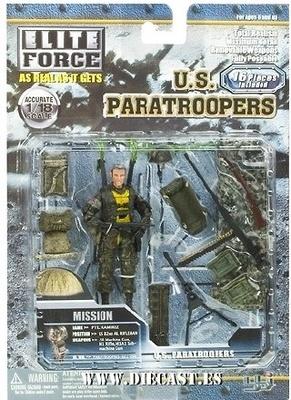 ELITE FORCE, U.S. PARATROOPERS, PTE. RAMIREZ, 1:18