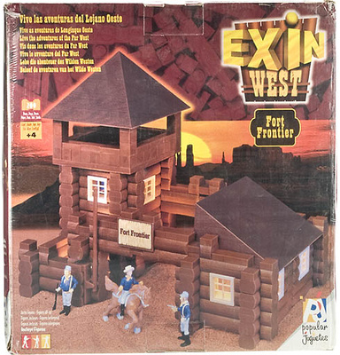 EXIN WEST Fort Apache (Caja de cartón deteriorada)